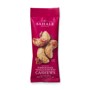Sahale Snacks Pomegranate Vanilla Cashews Glazed Mix 1.5oz (9ct)