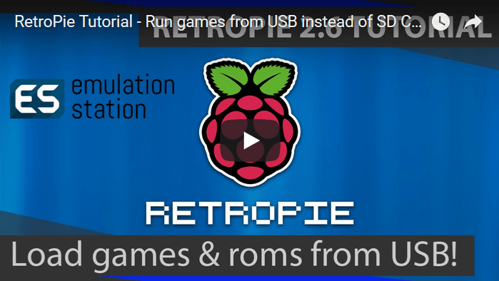 Video Tutorial: How to Play Roms From a USB Drive AND a MicroSD card in Retropie