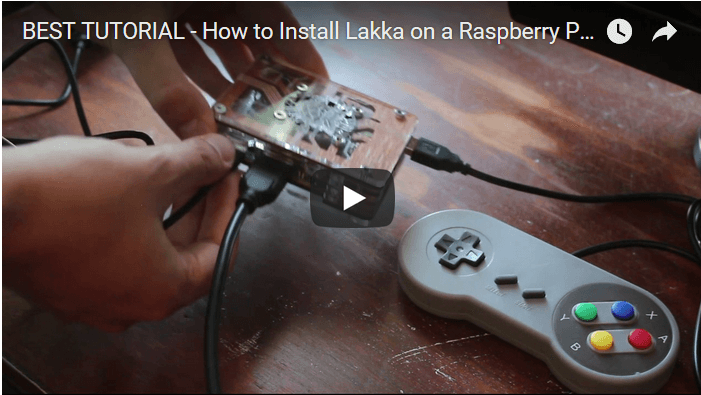 Video Tutorial: How to Install Lakka on a Raspberry Pi & Make Your Own DIY Retro Game Console