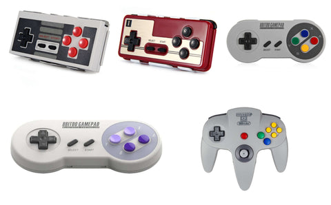 Ultimate Retro Gaming Controllers by Retro Game Club Wireless Bluetooth Best Top 10
