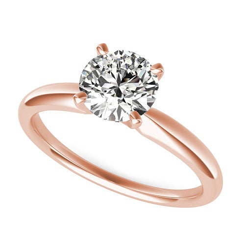 1.5 Carat Romantic Solitaire Rose Gold