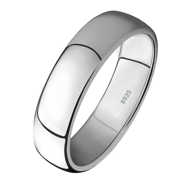 Classic 6mm Stainless Steel Band