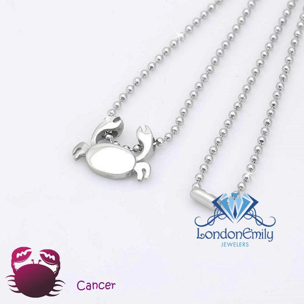 Cancer (Crab) Necklace