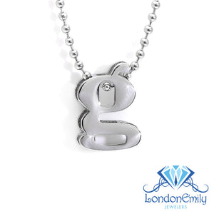 "Lil' Letter ""G"" necklace"