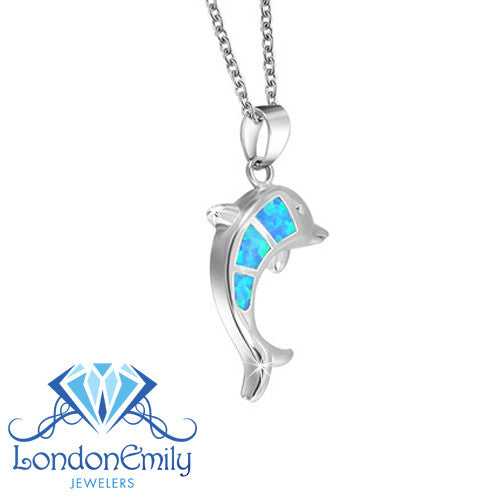 LondonEmily Jewelers Dolphin necklace