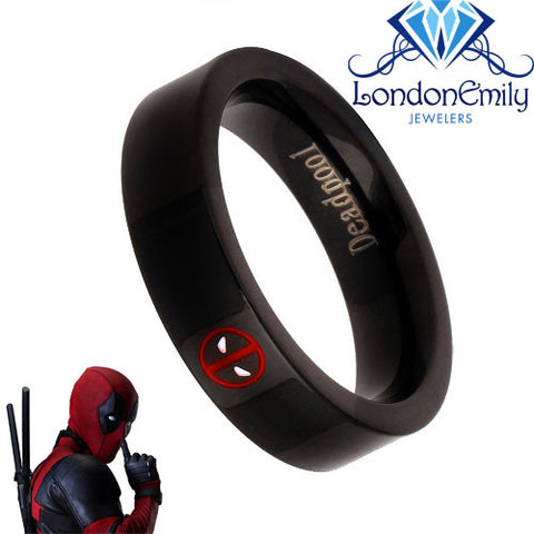 LondonEmily Jewelers Deadpool ring