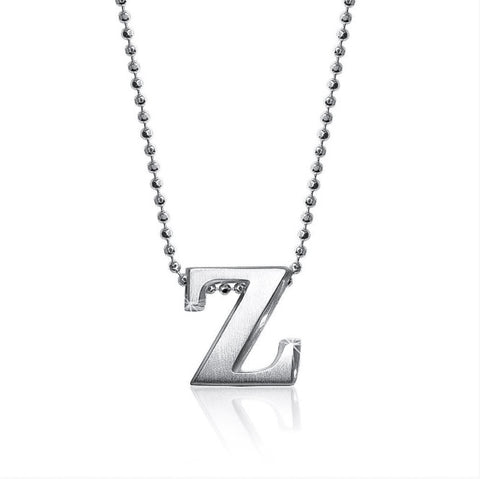 "Lil' Letter ""Z"" necklace"