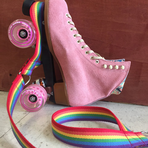 bruised skate leash rainbow