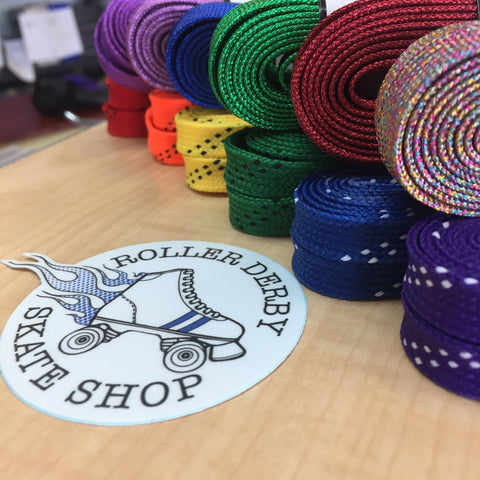 derby laces rainbow