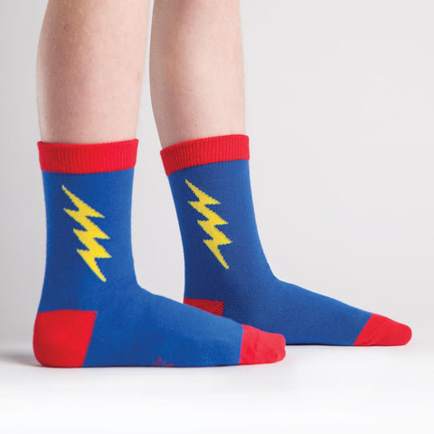 Super Hero Junior Crew Socks