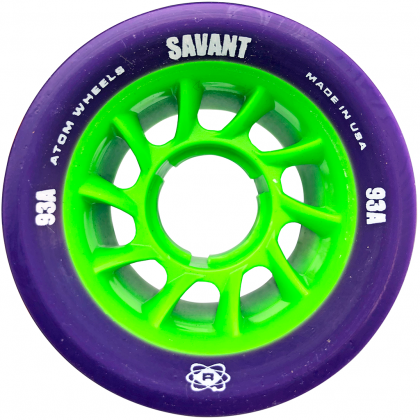 Atom Savant Wheel (62mm x 40mm)