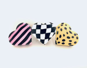 Patterned Heartstopper Toe Stops