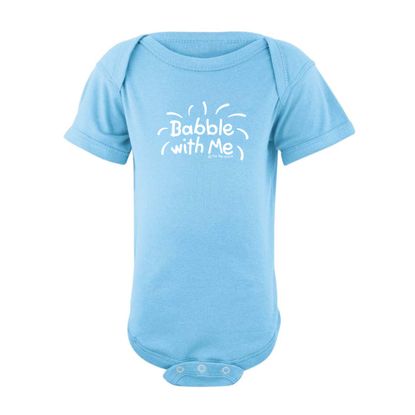 Babble With Me Onesie SS