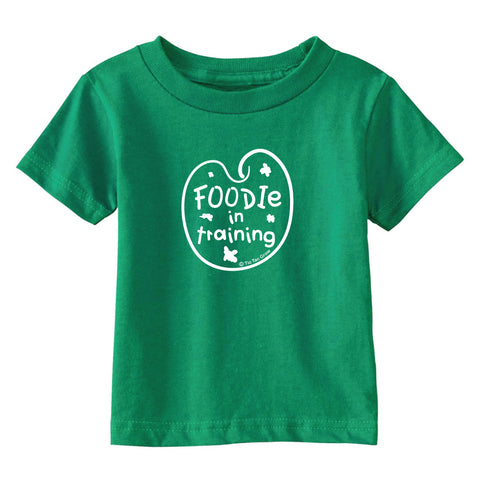Foodie In Training Toddler T-Shirt wholesale