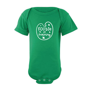 Foodie In Training Onesie SS wholesale