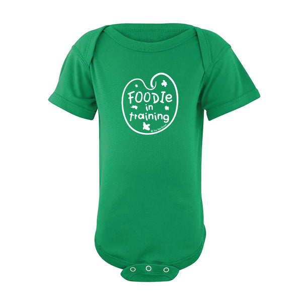 Foodie In Training Body Suit SS