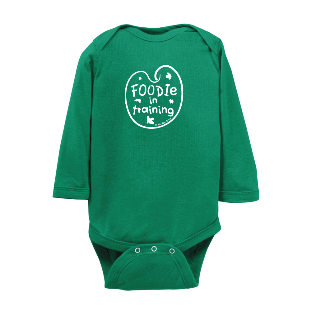 Foodie In Training Onesie LS