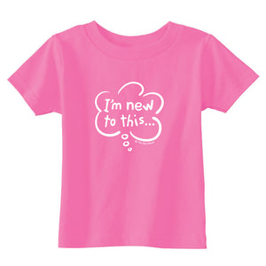 I'm New To This Toddler T-Shirt wholesale