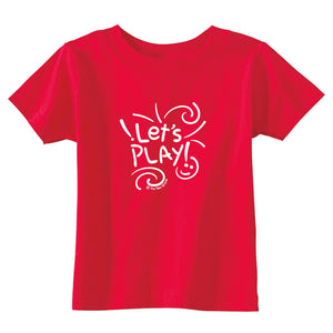 Let's Play Toddler T-Shirt wholesale