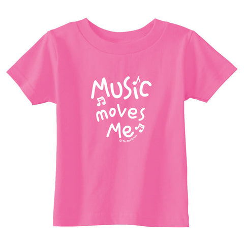 Music Moves Me Toddler T-Shirt