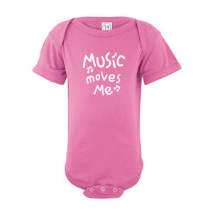 Music Moves Me Onesie SS