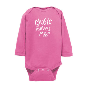 Music Moves Me Body Suit LS