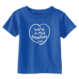 We're In This Together Toddler T-Shirt wholesale