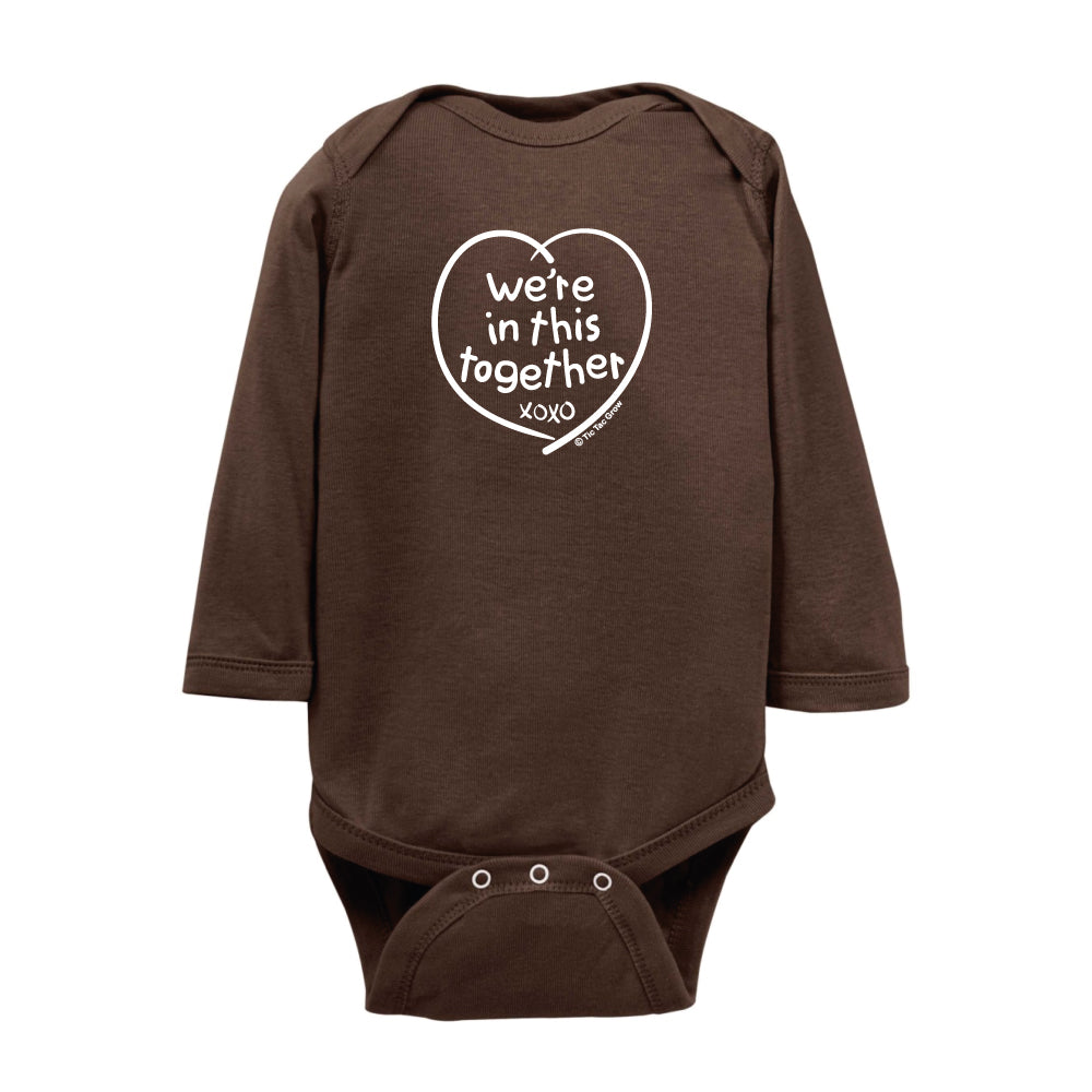 We're In This Together Onesie LS