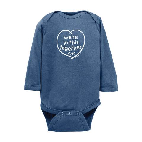 We're In This Together Onesie LS wholesale