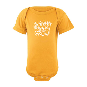 Wiggle Giggle Grow Body Suit SS