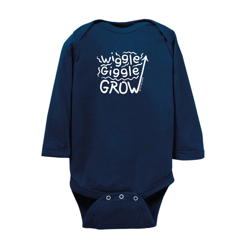 Wiggle Giggle Grow Body Suit LS