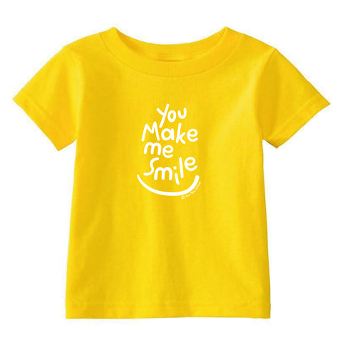 You Make Me Smile Toddler T-Shirt wholesale