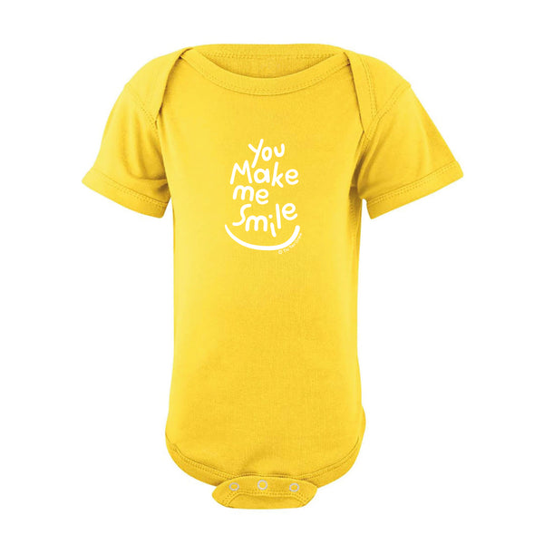You Make Me Smile Onesie SS