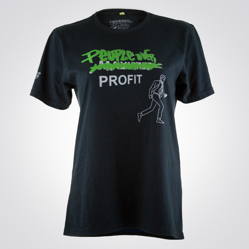 People Over Profit t-shirt