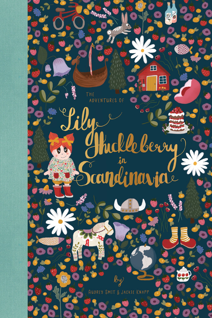 Book - The Adventures of Lily Huckleberry in Scandinavia (with Scandinavia patch)