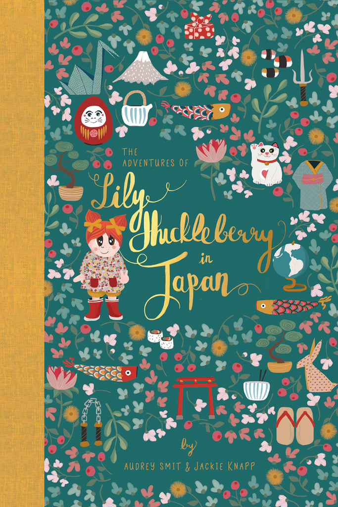 Book - The Adventures of Lily Huckleberry in Japan (with Japan patch)