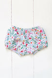 Bloomers in folk floral