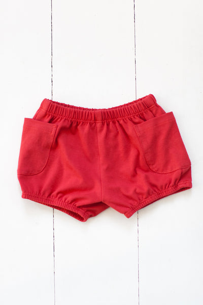 Bloomers in spicy red