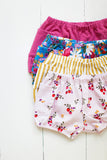 Bloomers in Strawberry floral