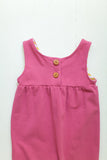 Tank romper in berry