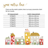 mural metric conversion chart
