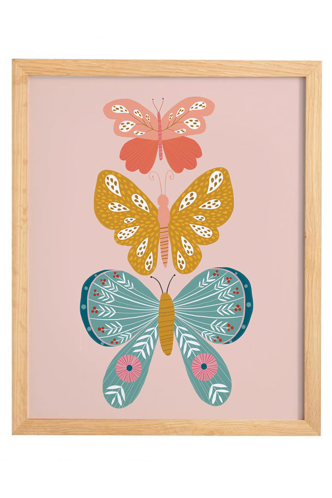 Butterfly Print Set | Print 1 - Trio