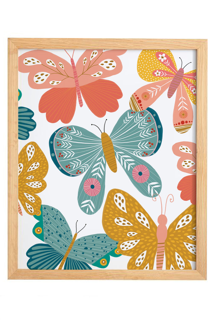 Butterfly Print Set | Print 2 - Cluster