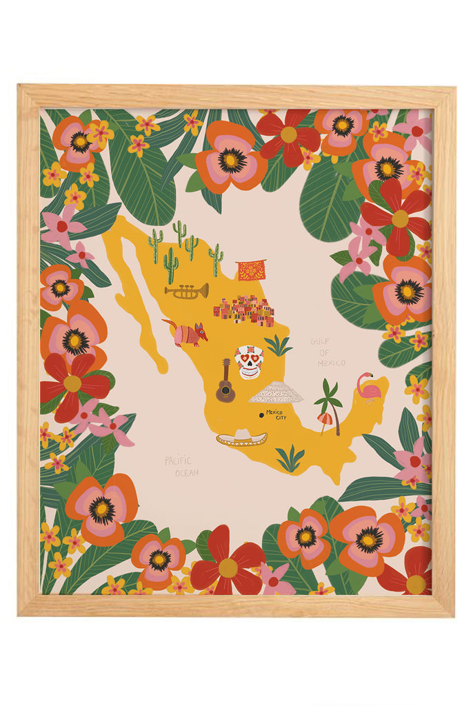 Map Print - Mexico