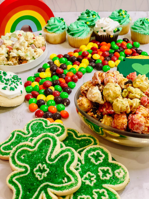 How to make a Dessert Board for St. Patrick's Day