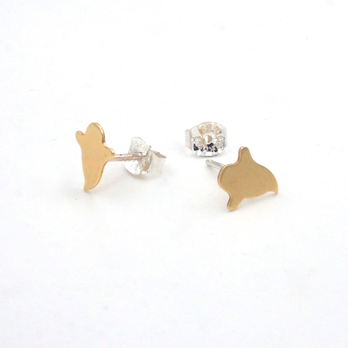 Ghost Stud Earrings H001 - Virginia Wynne Designs