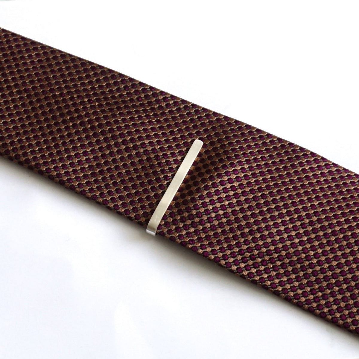 "Classic 2.25"" Sterling Silver Tie Clip - Simple Yet Elegant - 0226 - Virginia Wynne Designs"