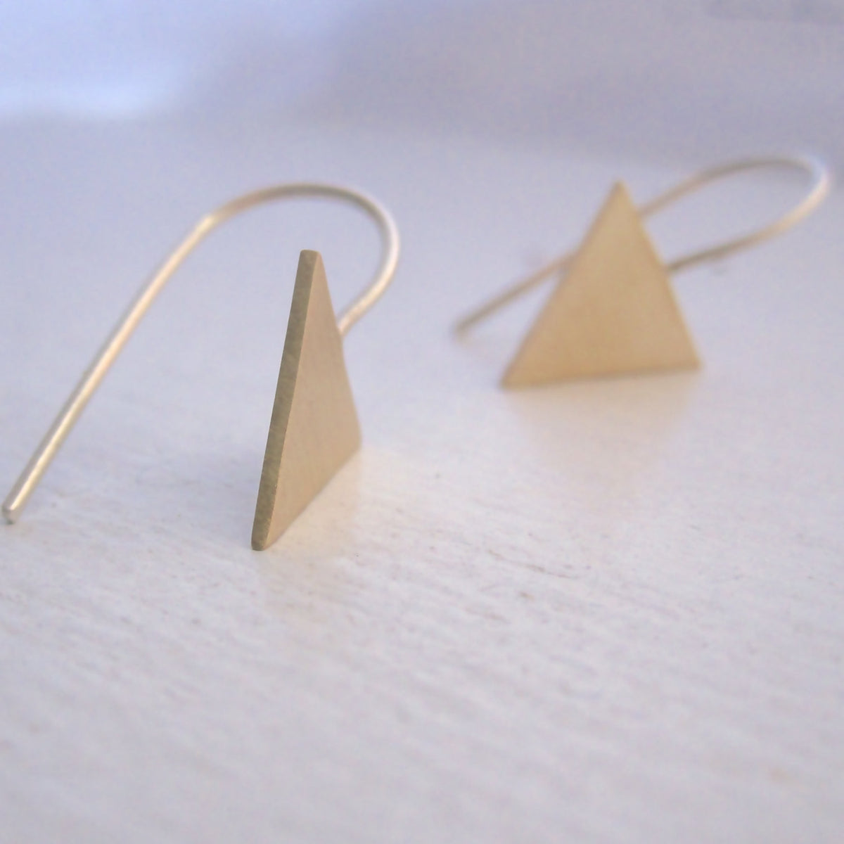 Make A Statement With These Tribal Aztec Arrow Drop Dangle Earrings - 0135 - Virginia Wynne Designs
