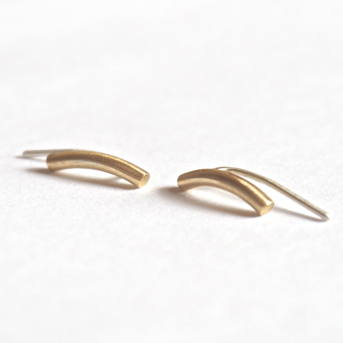 12mm Small Ear Climber Earrings 0176