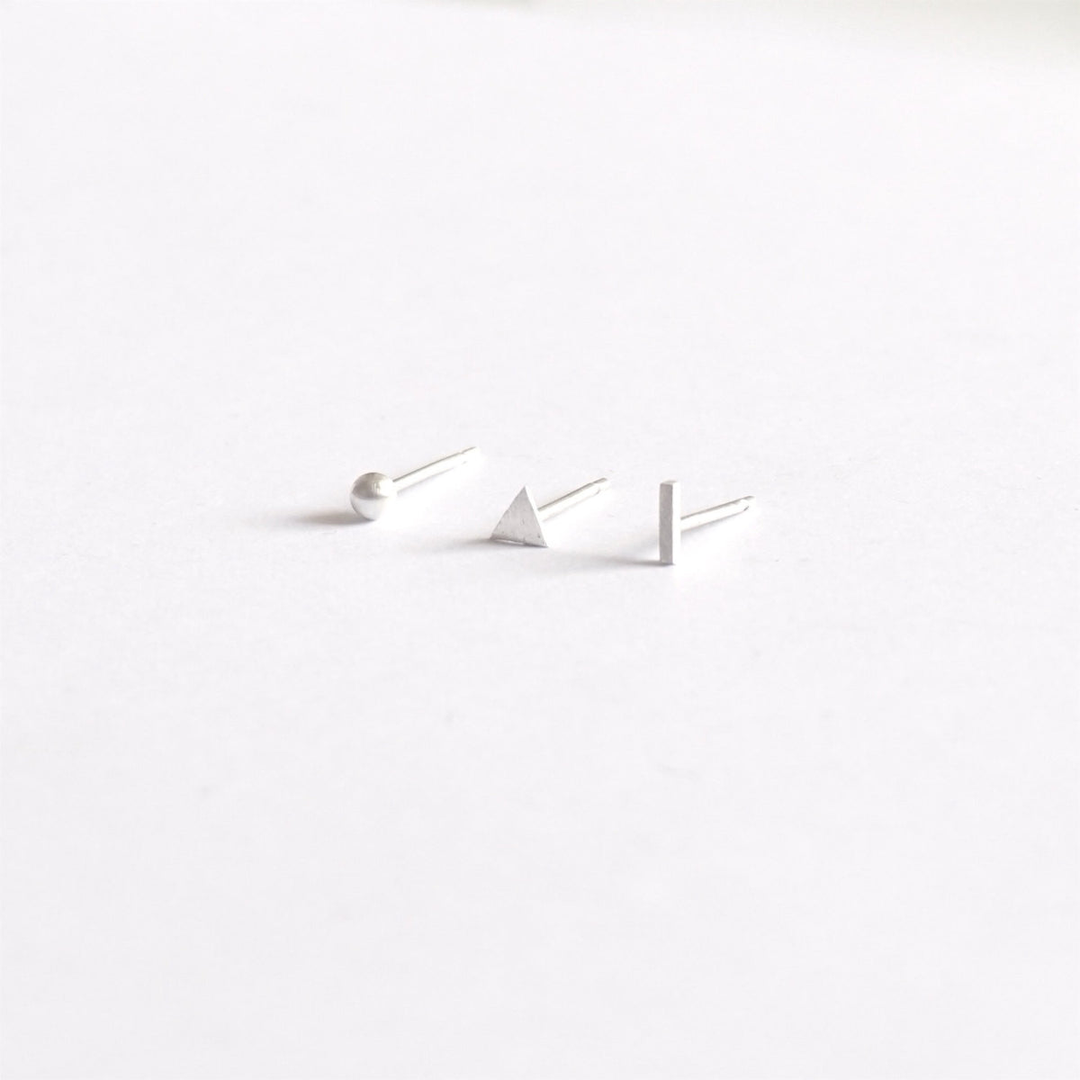 Distinctive and Well Designed Mismatched Stud Earrings - 0219 - Virginia Wynne Designs